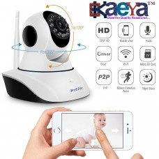 OkaeYa -IP01A WiFi Wireless HD IP Security Camera CCTV [Watch LIVE Demo] (