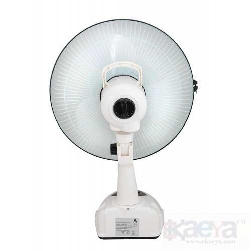 Okaeya Akari Ak 8012 12 Rechargeable Ac Dc Table Fan With